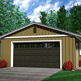 Detached Garage built Texas